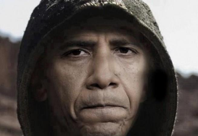 Obama v kápi Satana
