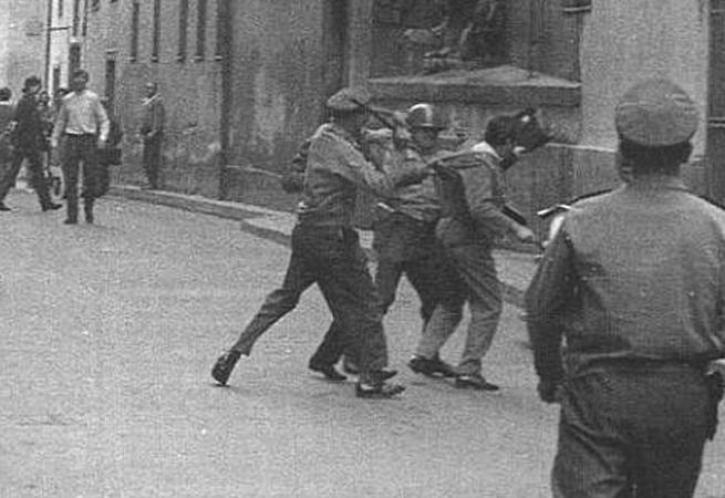 Češi proti Čechům  | Brno 21. 8. 1969 | Foto: Dobový tisk