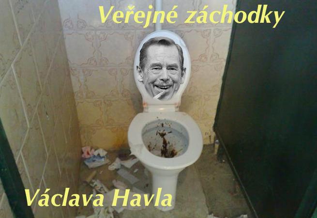 Veřejné záchodky Václava Havla