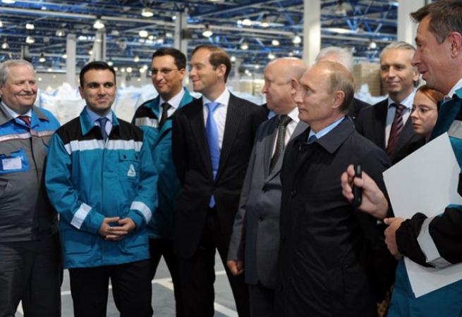 Putin v Sarově | foto: ria.ru