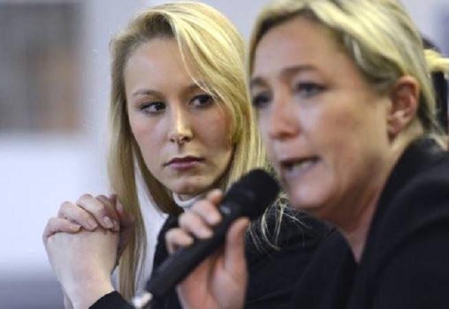 Marion Maréchal-Le Pen a Marine Le Pen | foto: VlasteneckeNoviny.cz