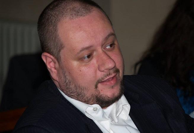 Radek Velička - Založení Vlasteckého institutu 6. XII. 2015 | foto: facebook.com - foceno bez svolení fotografovaného
