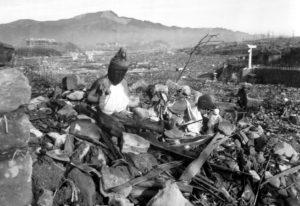 americká nukleární genocida na japonských civilistech